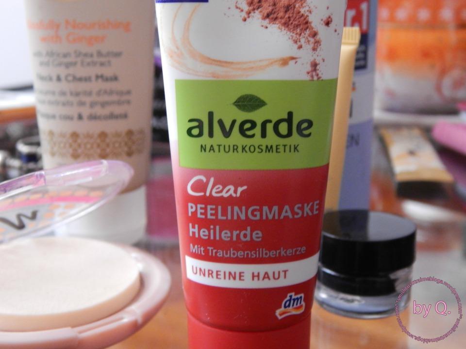 Alverde clear piling maska za lice