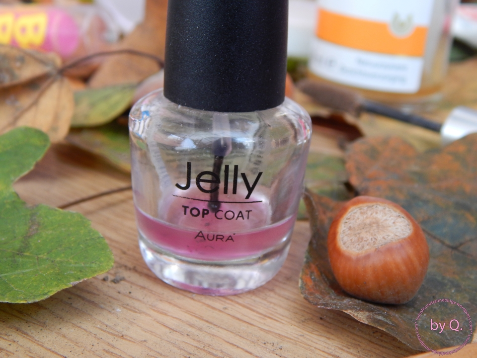 aura jelly top coat