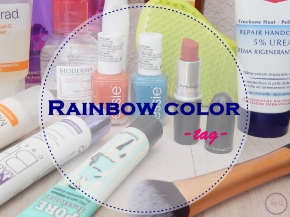 rainbow color tag